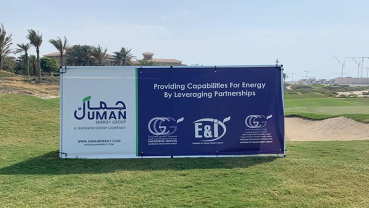 Juman Energy Group sponsors the Golf Event for British Business Council